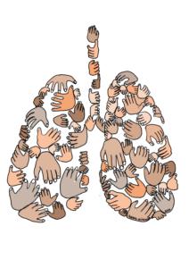 Longen ernstig allergisch astma longrevalidatie grafisch design vormgeving illustratie ondernemen met handicap bloggen vak